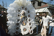 African-american Originals - Big Chief Mardi Gras Indian by Christopher R Harris