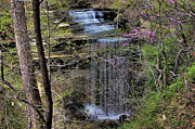 Matthew Winn Posters - Big Clifty Falls HDR Poster by Matthew Winn