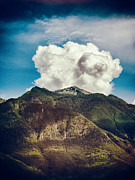 Silvia Ganora - Big clouds over the Alps