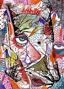 Baffling Prints - Big Eye Print by Gail Miller