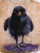 Crows Pastels - Big Foot by Billie Colson