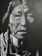 Oglala Lakota Art Posters - Big Foot Poster by Marc Doutherd
