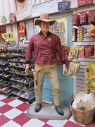 Toy Store Prints - Big John Wayne Jefferson Texas Print by Donna Wilson