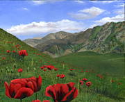 Cecilia  Brendel - Big Red Mountain Poppies