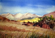 Todd Derr Prints - Big Sandy Wyoming Print by Todd Derr