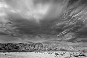Desert Lake Framed Prints - Big Sky Framed Print by Peter Tellone