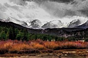 Rocky Mountain National Park Posters Prints - Big Storm Print by Jon Burch Photography
