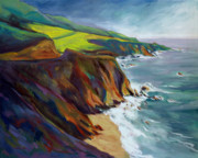 Big Sur Beach Originals - Big Sur 1 by Konnie Kim