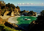 Big Sur Beach Framed Prints - Big Sur Framed Print by Benjamin Yeager