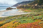 Big Sur California In Autumn Print by Pierre Leclerc Photography