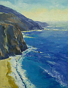 Big Sur Beach Framed Prints - Big Sur California Framed Print by Michael Creese