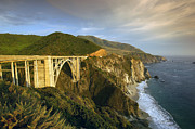 Bixby Bridge Metal Prints - Big Sur Metal Print by Christian Heeb
