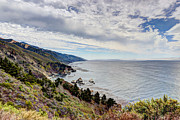 Western Western Art Prints - Big Sur Coast Print by Heidi Smith