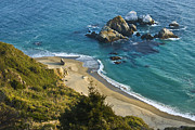 Big Sur Beach Originals - Big Sur Coast by Michael Walborn