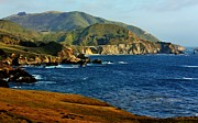 Bixby Bridge Metal Prints - Big Sur Coastline Metal Print by Benjamin Yeager