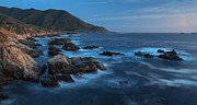 Coastal California Framed Prints - Big Sur Coastline Framed Print by Mike Reid
