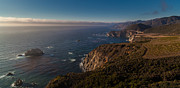 Bixby Bridge Metal Prints - Big Sur Headlands Metal Print by Mike Reid