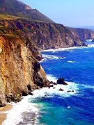 Big Sur Beach Originals - Big Sur Pacific Coast by Stephanie Moses
