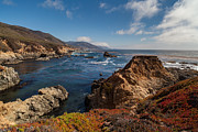 Big Sur Framed Prints - Big Sur Vista Framed Print by Mike Reid