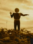 State Fair Photos - Big Tex by Angela Wright