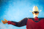 Western Shirt Posters - Big Tex Lives On Poster by Sonja Quintero