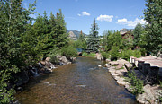 Big Thompson River Prints - Big Thompson Estes Park Print by Kay Pickens