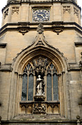 Antiquity Photos - Big Tom Tower Clock Oxford by Tom Wurl