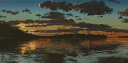 Bruce Painting Originals - Big Tub Sunset by Michael Marcotte