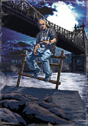 Queensbridge Prints - Big Twins - TG1 Print by Tuan HollaBack
