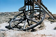 Stil Life Prints - Big Wheel Bodie Print by Barbara Snyder