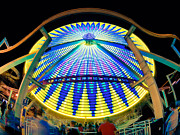 Amusements Framed Prints - Big Wheel Keep On Turning Framed Print by Mark Miller