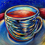 Art By Frederick Luff Framed Prints - Big Working Cup  Framed Print by Frederick Luff  GALLERY