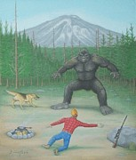 Mark Barnett - Bigfoot Encounter