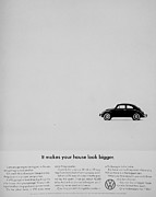 Vw Beetle Framed Prints - Bigger House Framed Print by Benjamin Yeager