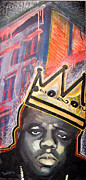 Hip Hop Painting Originals - Biggie by dreXeL
