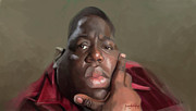 B.i.g. Framed Prints - Biggie Framed Print by Jumaane Sorrells-Adewale