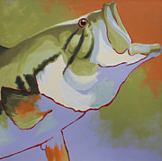 Largemouth Paintings - Bigmouth by Steven Mockus