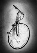 Biking Drawings - Bike by Di Fernandes