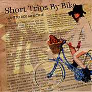Sassan Filsoof Posters - Bike in Style Poster by Sassan Filsoof