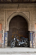 Moroccan Photos - Bike Shelter by Mick House