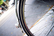 Bicycle Photos - Bike Wheel by Tanya Harrison