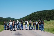 South Dakota Tourism Photos - Bikers in the Park by Dany Lison