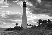 Eyzen Medina Framed Prints - Bill Baggs Lighthouse  Framed Print by Eyzen Medina