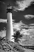 Cape Florida Lighthouse Art - Bill Baggs Lighthouse by Rudy Umans