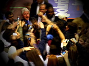 Bill Clinton At Muhlenberg College Print by Jacqueline M Lewis