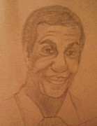 African-american Drawings - Bill Cosby by Christy Brammer