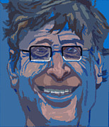 Pirates Digital Art Originals - Bill Gates by Mike Miller