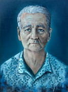 Bill Murray Framed Prints - Bill Murray  Framed Print by Michael Parsons
