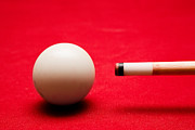 Ball Photo Prints - Billards pool game Print by Michal Bednarek