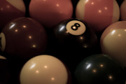 8ball Posters - Billiard Poster by Lauren Goia